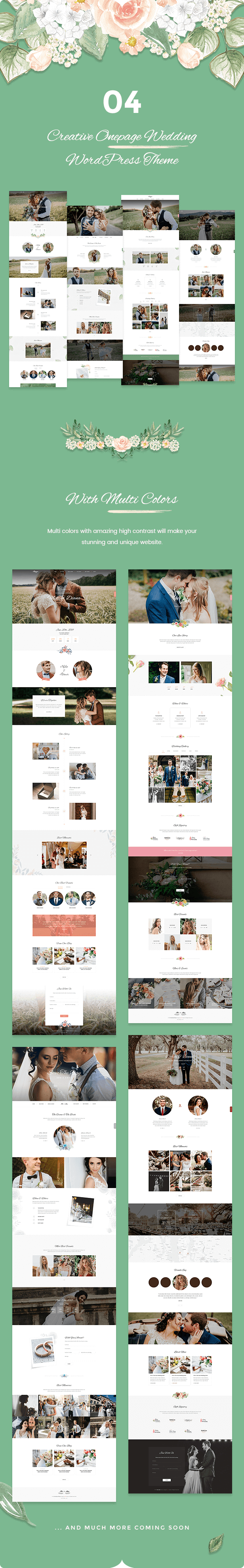 Sweetinz - Tema de WordPress la boda creativa disponible