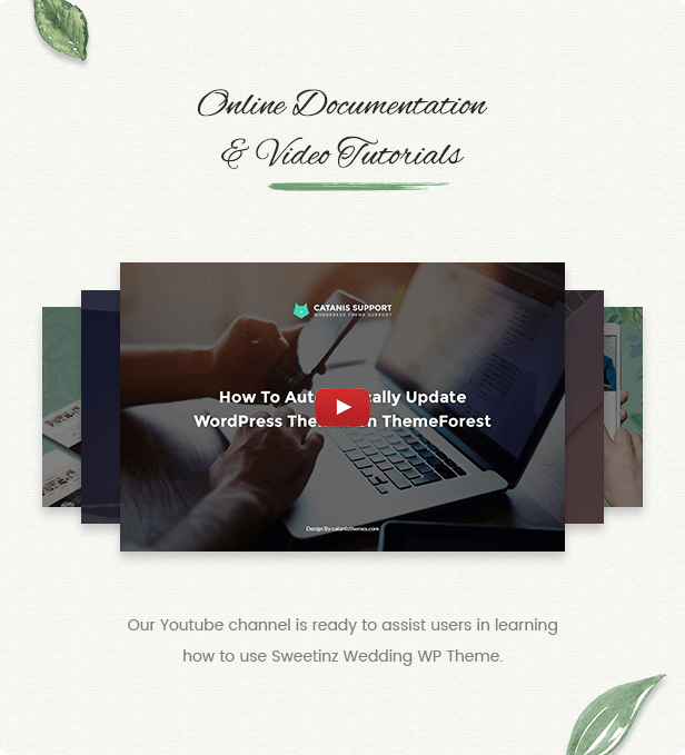 OnePage Wedding WordPress