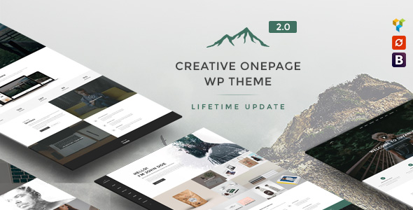Luvaniz - Una creativa página WordPress Theme