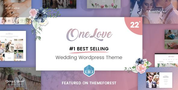 OneLove - Awesome Wedding WordPress Theme